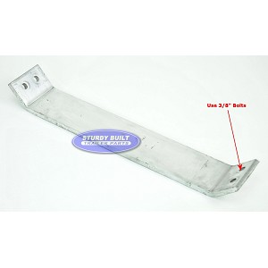 Aluminum Boat Trailer Fender or Bunk Support 17 inch HD for Tandem Axle
