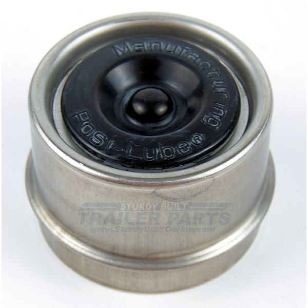 1.98 Dust Cap Stainless Steel Replacement for Posi-Lube, Ez Lube Axles