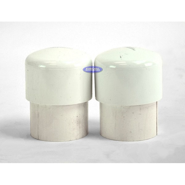 Pipe Light Union and Cap Pair for All Pipe Light Kits