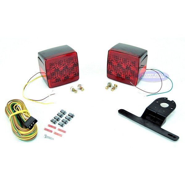 LED Boat and Utility Submersible Trailer Light Kit T85 Style
