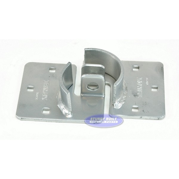 Trimax Trailer Door Hasp Plates Securing 2 Piece System for Trailer Locks
