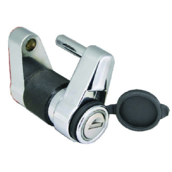 Armored Trailer Coupler Lock and Door Latch