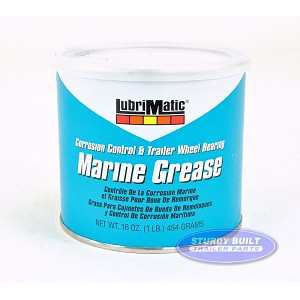 Lubrimatic Marine and Trailer Wheel Bearing Grease Tub 16 oz Green
