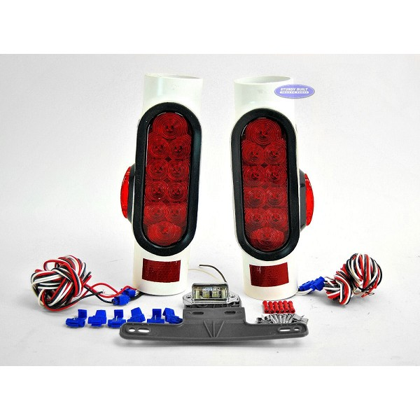 LED Pipe Light Kit with LED Side Markers