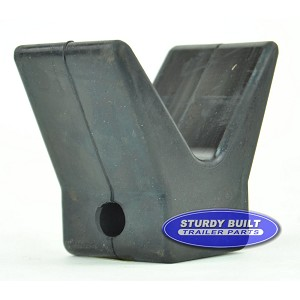 2 inch Boat V Shape Bow Stop for Winch Post
