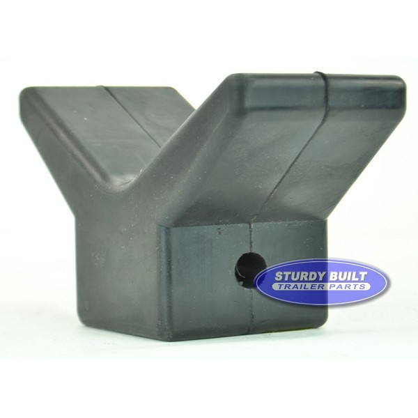 3 inch Boat V Shape Bow Stop for Winch Post for Boat Trailer