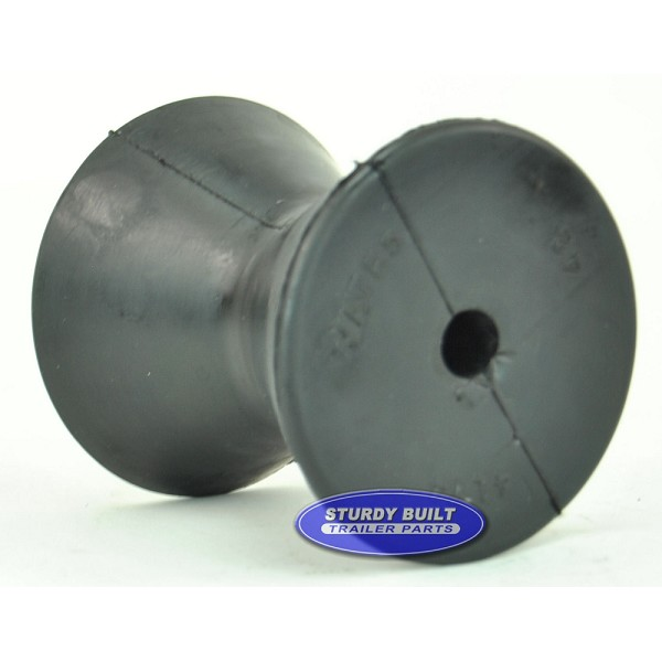 4 inch Rubber Bow Roller for Boat Trailer Winch Post