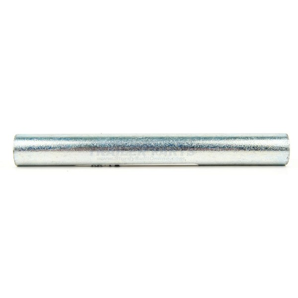 Zinc Plated Roller Shaft 6.25 inch long 1/2 inch Diameter
