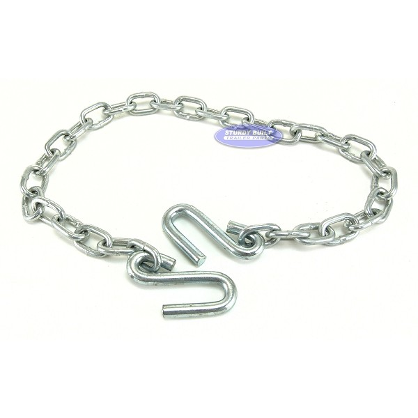 Trailer Safety Chain Zinc Plated 1/4