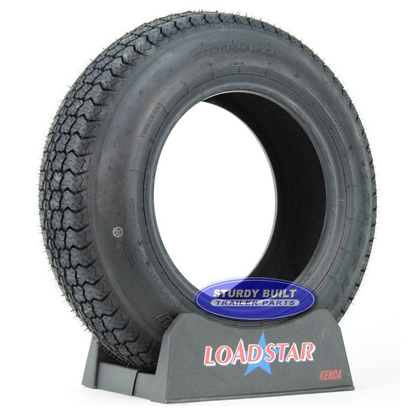 ST175/80D13 Boat Trailer Tire B78-13 by LoadStar LRC 1360lb Capacity