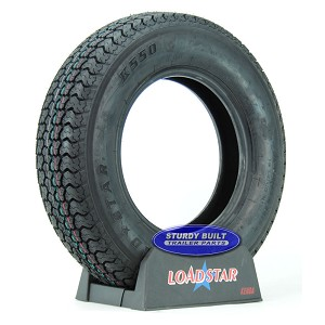 ST205/75D14 Boat Trailer Tire F78-14 by LoadStar LRC 1760lb Capacity