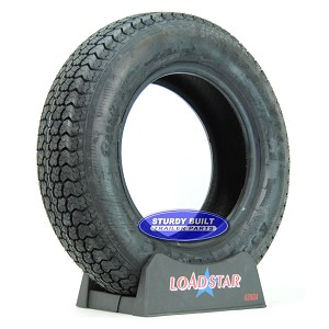 ST205/75D15 Boat Trailer Tire F78-15 by LoadStar LRC 1820lb Capacity
