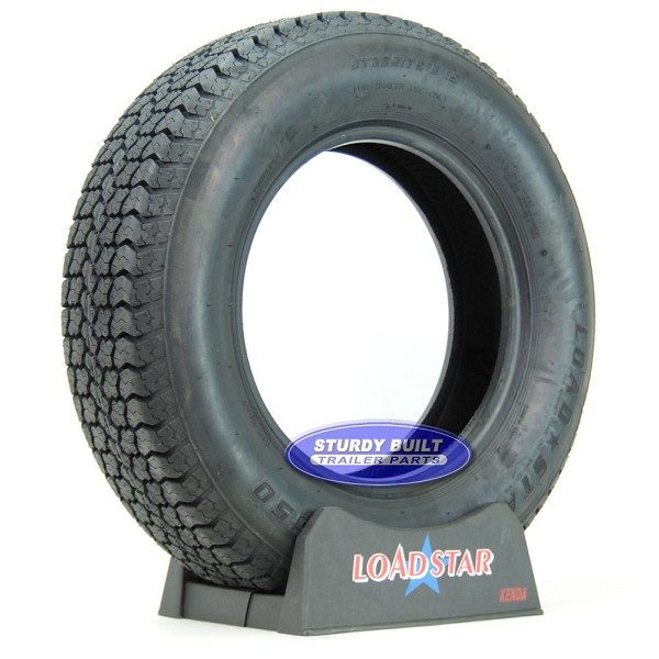 ST225/75D15 Boat Trailer Tire H78-15 by LoadStar LRD 2540lb Capacity