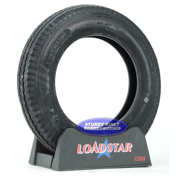 4.80x12 Trailer Tire 4.80-12 Load Range C 990lb Capacity