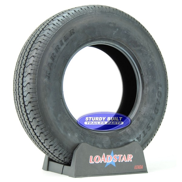 ST215/75R14 Trailer Tire Radial by LoadStar Load Range C 1870lb Capacity