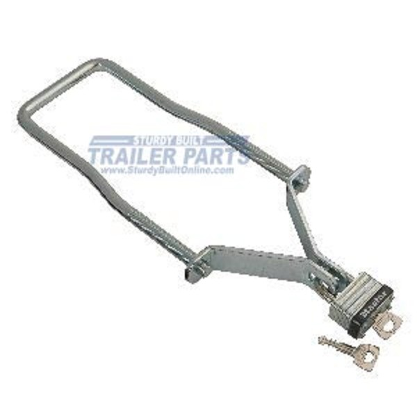 Trailer Spare Tire Carrier UBolt with Brackets and Lock