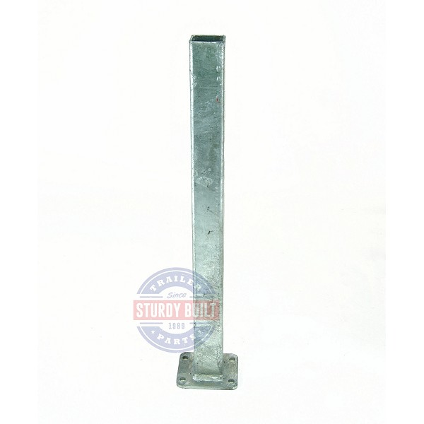 Boat Trailer Winch Post 2 inch x 2 inch x 24 inch Tall Galvanized
